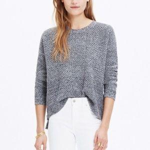 Madewell Landmark Textured High Low Sweater
